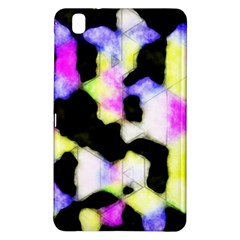 Watercolors Shapes On A Black Background                            Samsung Galaxy Tab Pro 10 1 Hardshell Case