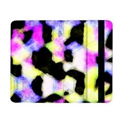 Watercolors Shapes On A Black Background                            Samsung Galaxy Tab Pro 12 2 Hardshell Case by LalyLauraFLM