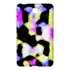 Watercolors Shapes On A Black Background                            Samsung Galaxy Tab 4 (8 ) Hardshell Case