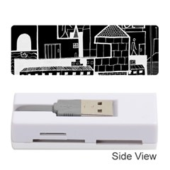 Drawing  Memory Card Reader (stick)
