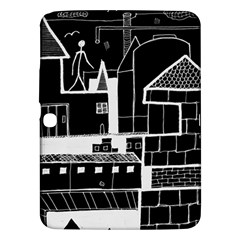 Drawing  Samsung Galaxy Tab 3 (10 1 ) P5200 Hardshell Case  by ValentinaDesign