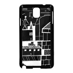 Drawing  Samsung Galaxy Note 3 Neo Hardshell Case (black)