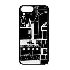 Drawing  Apple Iphone 7 Plus Seamless Case (black) by ValentinaDesign