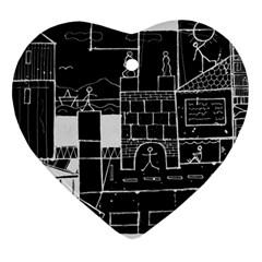 Drawing  Ornament (heart)