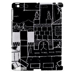 Drawing  Apple Ipad 3/4 Hardshell Case (compatible With Smart Cover) by ValentinaDesign