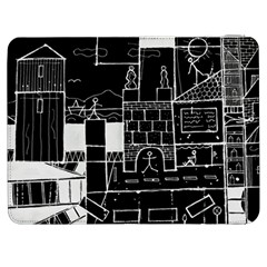 Drawing  Samsung Galaxy Tab 7  P1000 Flip Case by ValentinaDesign