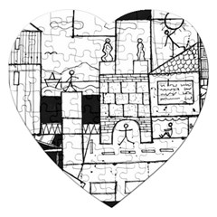 Drawing  Jigsaw Puzzle (heart)