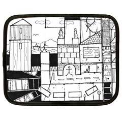 Drawing  Netbook Case (large)