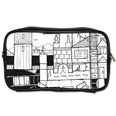 Drawing  Toiletries Bags by ValentinaDesign