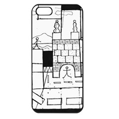 Drawing  Apple Iphone 5 Seamless Case (black) by ValentinaDesign