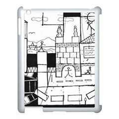 Drawing  Apple Ipad 3/4 Case (white)
