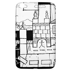 Drawing  Samsung Galaxy Tab 3 (8 ) T3100 Hardshell Case  by ValentinaDesign