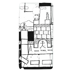 Drawing  Galaxy Note 4 Back Case