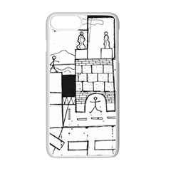 Drawing  Apple Iphone 7 Plus Seamless Case (white) by ValentinaDesign