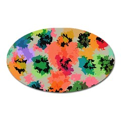 Colorful Spots                                   Magnet (oval)