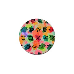 Colorful Spots                                   Golf Ball Marker