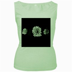 Drawing  Women s Green Tank Top
