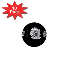 Drawing  1  Mini Buttons (10 Pack)