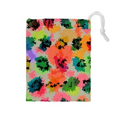 Colorful Spots                                   Drawstring Pouch