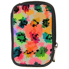 Colorful Spots                                   Compact Camera Leather Case