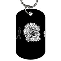 Drawing  Dog Tag (one Side)