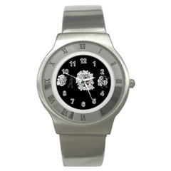 Drawing  Stainless Steel Watch