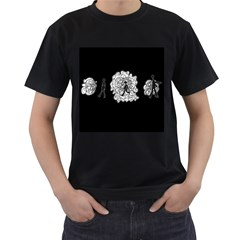 Drawing  Men s T Shirt (black)