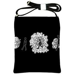 Drawing  Shoulder Sling Bags