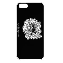 Drawing  Apple Iphone 5 Seamless Case (white)