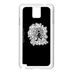 Drawing  Samsung Galaxy Note 3 N9005 Case (white)