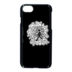 Drawing  Apple Iphone 7 Seamless Case (black)