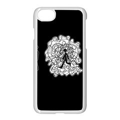 Drawing  Apple Iphone 8 Seamless Case (white)