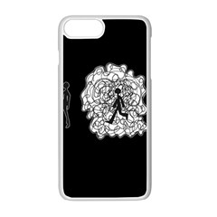 Drawing  Apple Iphone 8 Plus Seamless Case (white)