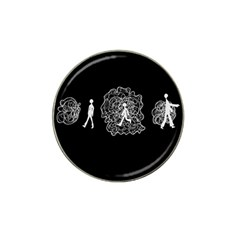 Drawing  Hat Clip Ball Marker (4 Pack)