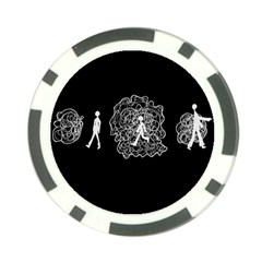 Drawing  Poker Chip Card Guard (10 Pack)