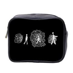 Drawing  Mini Toiletries Bag 2 Side