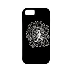 Drawing  Apple Iphone 5 Classic Hardshell Case (pc+silicone) by ValentinaDesign