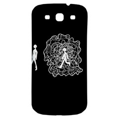 Drawing  Samsung Galaxy S3 S Iii Classic Hardshell Back Case