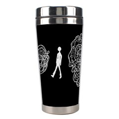 Drawing  Stainless Steel Travel Tumblers by ValentinaDesign