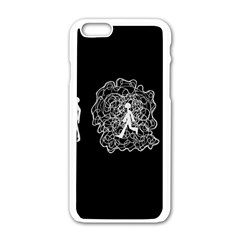 Drawing  Apple Iphone 6/6s White Enamel Case