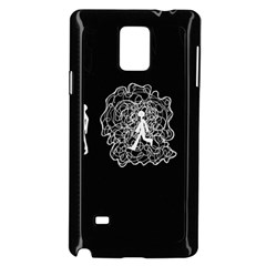 Drawing  Samsung Galaxy Note 4 Case (black)