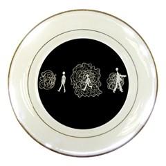 Drawing  Porcelain Plates