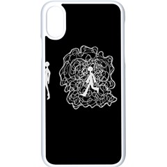 Drawing  Apple Iphone X Seamless Case (white)