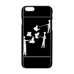 Drawing  Apple Iphone 6/6s Black Enamel Case