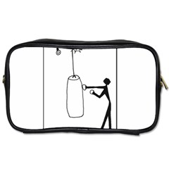 Drawing  Toiletries Bags 2 Side by ValentinaDesign