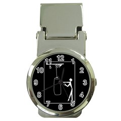 Drawing  Money Clip Watches
