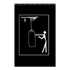 Drawing  Shower Curtain 48  X 72  (small)