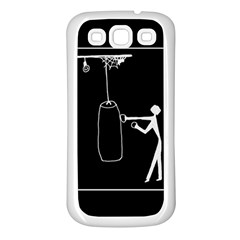Drawing  Samsung Galaxy S3 Back Case (white)