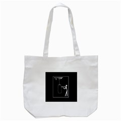 Drawing  Tote Bag (white)