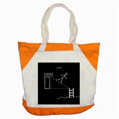 Drawing Accent Tote Bag